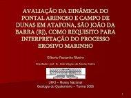 AVALIAÇÃO DA DINÂMICA DO PONTAL ... - Georeferencial
