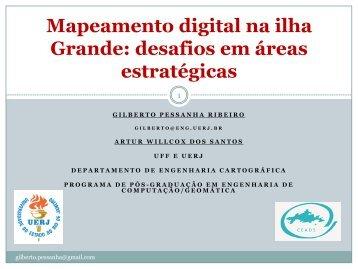 Mapeamento digital da ilha Grande: desafios em ... - Georeferencial