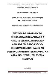 Relatório Final - Georeferencial