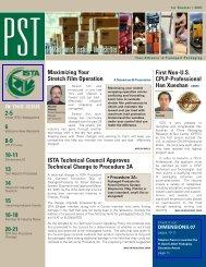 2007 issue 1 - International Safe Transit Association