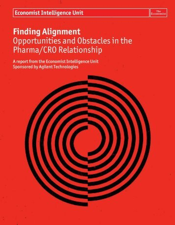 Finding Alignment Opportunities and Obstacles in the Pharma/CRO ...