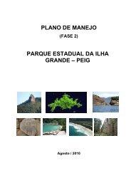 plano de manejo parque estadual da ilha grande - Georeferencial