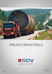 Téléchargez la brochure Projets Industriels - SDV