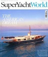 Page 1 Page 2 I SU PERYACHT AFT SECTION Launches and refits ...