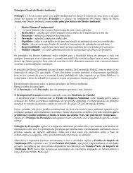 Princípios Gerais do Direito Ambiental Princípio é a lei de ... - Outorga