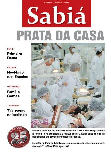 Sabiá - abril - 2009 - nº 19 - Outorga
