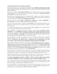 Artigo 243 - A Crise Energética do Setor Elétrico - Outorga