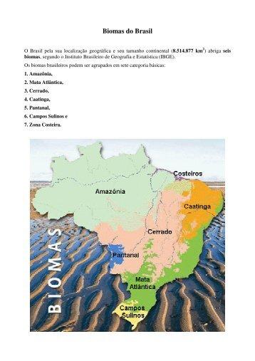 Artigo 282 - Biomas do Brasil - Outorga.com.br