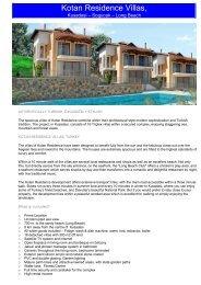 Kotan Residence Villas, - Sunshine Estates