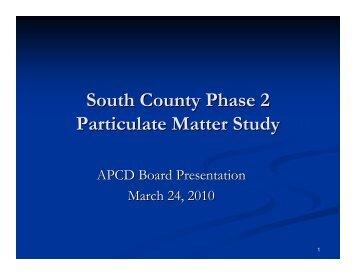 March 24, 2010 Board Meeting Presentation