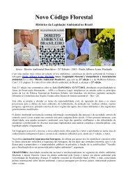 Artigo 359 - Novo Código Florestal Brasileiro - Outorga