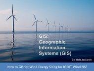 Rhode Island Offshore Wind Development: Application of Marine ...