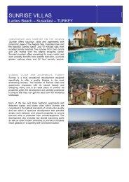 SUNRISE VILLAS - Sunshine Estates