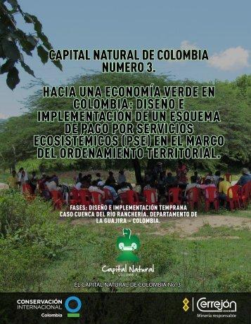 capital natural de colombia numero 3. hacia una economía verde en ...