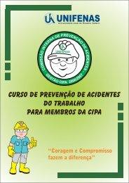Curso de Prevenção de Acidentes do Trabalho para ... - Unifenas
