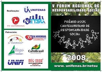 Guia de Responsabilidade Social - Unifenas