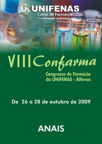 VIII Congresso de Farmácia - Unifenas