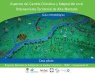 Aspectos del Cambio Climático y Adaptación en el Ordenamiento ...