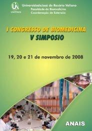 I Congresso de Biomedicina - Unifenas
