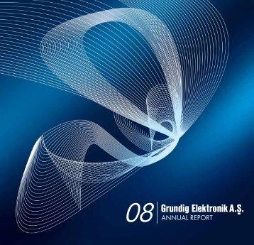 2008 Annual Report - Arçelik