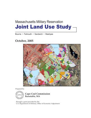Joint Land Use Study - Cape Cod Commission