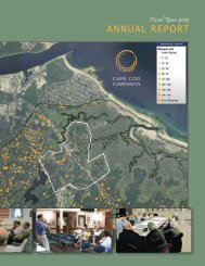 Cape Cod Commission Annual Report - Fiscal Year 2012