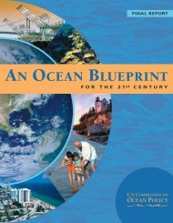 FINAL REPORT OF THE US COMMISSION ON OCEAN POLICY ...