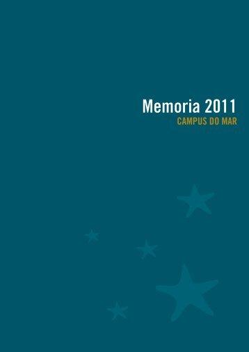 Memoria 2011 - Campus do Mar