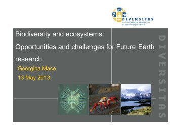 Opportunities and challenges for Future Earth research