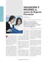 Tradición y Solidez: la marca de Seguros Cervantes - Ekos Negocios