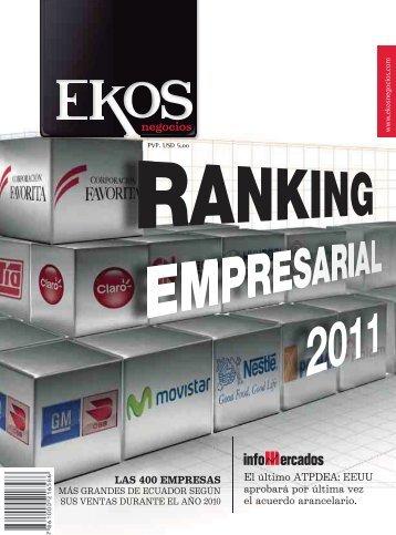 Portada Contenido Revista Ekos 207 Julio 2011 - Ekos Negocios