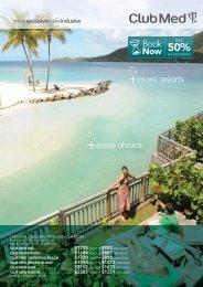 Book Now - Club Med Australia - Travel Agent's Portal