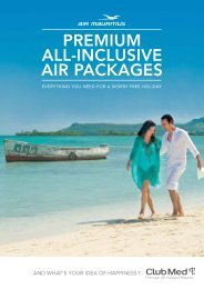 PREMIUM ALL-INCLUSIVE AIR PACKAGES - Club Med