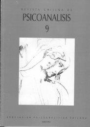 PSICOANALISIS - Psicoterapia Relacional