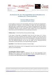 De Alemania a EE.UU. - Psicoterapia Relacional