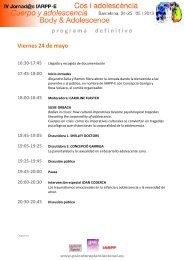 programadefinitivo Viernes 24 de mayo - Psicoterapia Relacional
