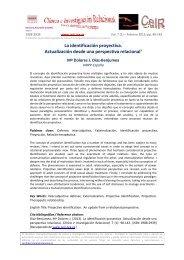 La identificación proyectiva - Psicoterapia Relacional