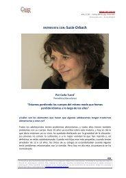 Susie Orbach - Psicoterapia Relacional
