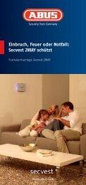 Einbruch, Feuer oder Notfall: Secvest 2WAY schützt - HPScope