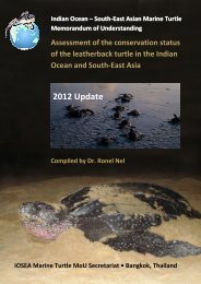 2012 Update - Indian Ocean - South-East Asian Marine Turtle ...
