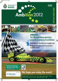 the official event guide - Ambition 2012