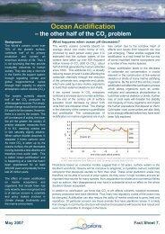 Ocean Acidification - EUR-Oceans