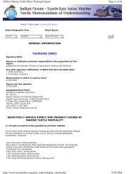 Cambodia (SEA) Page 1 of 16 IOSEA Marine Turtle MoU: National ...