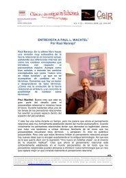 Paul L. Wachtel - Psicoterapia Relacional