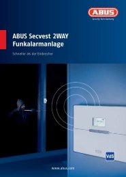 ABUS Secvest 2WAY Funkalarmanlage - HPScope