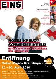 Eröffnung - E1NS-Magazin