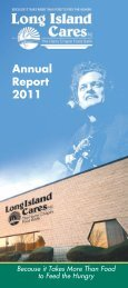 Annual Report 2011 - Long Island Cares