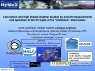Corsica observation site - HyMeX