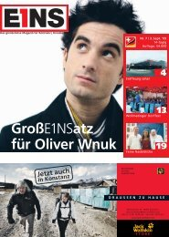 03. September `09 (PDF) - E1NS-Magazin
