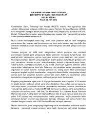 PROGRAM JELAJAH JANJI DITEPATI BERTEMPAT DI KULIM ...